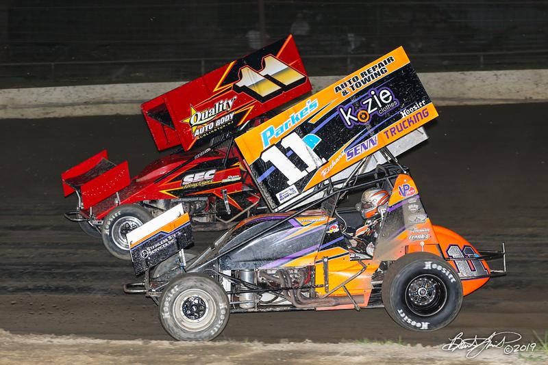 Capitol Renegade United Racing Company - Grandview Speedway - 11 Ryan Stillwaggon, 11A Austin Bishop