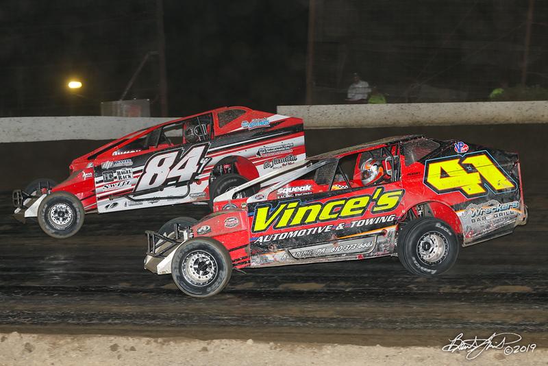 Grandview Speedway - 84Y Alex Yankowski, 41 Glenn Strunk