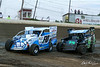 Grandview Speedway - F10 Mark Kemmerer, 19 Brad Brightbill