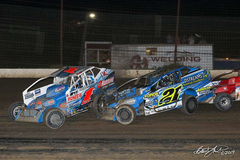 Grandview Speedway - 1C Craig Von Dohren, 21K Kyle Weiss