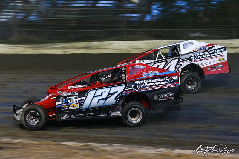 Grandview Speedway - 127 Frank Yankowski, 84Y Alex Yankowski