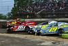 Grandview Speedway - 33s Skylar Sheriff, 16 Louden Reimert, 87 Eric Biehn, 19 Jared Umbenhauer