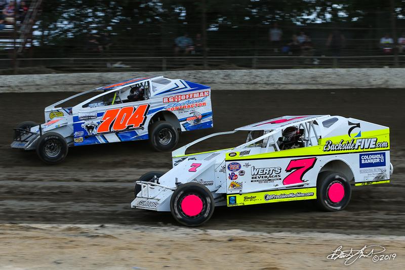 Grandview Speedway - 704 Kory Fleming, 7 Brett Gilmore