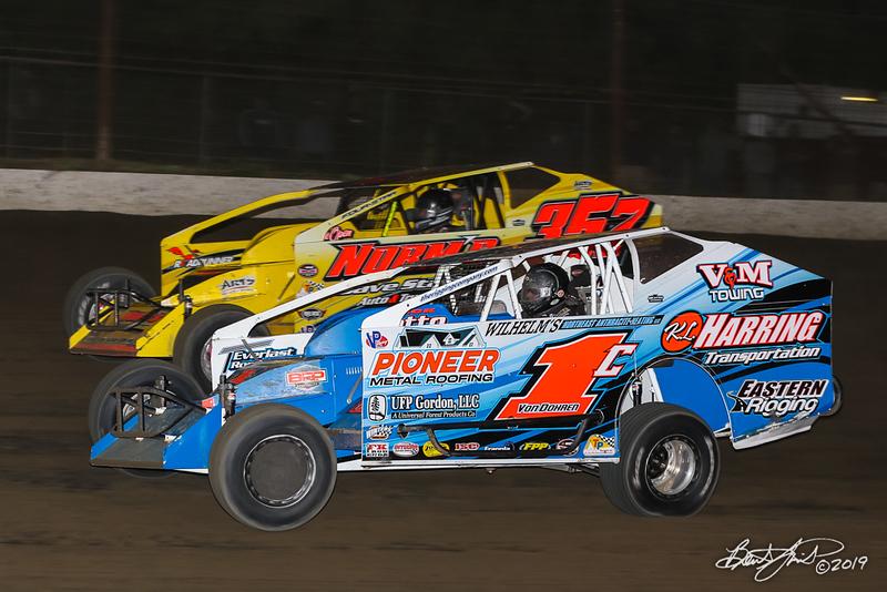 Grandview Speedway - 357 Duane Howard, 1C Craig Von Dohren