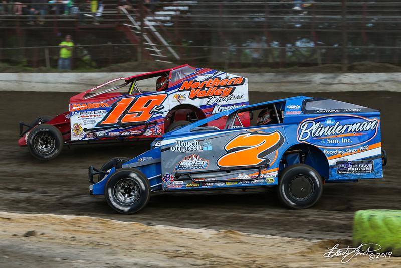 Grandview Speedway - 19K Brett Kressley, 7 Rick Laubach