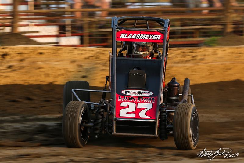 Ken Brenn Midget Masters - NOS Energy Drink USAC National Midget Championship - Grandview Speedway - 27 Tucker Klaasmeyer
