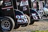 Ken Brenn Midget Masters - NOS Energy Drink USAC National Midget Championship - Grandview Speedway - 25 Jerry Coons Jr., 5 Kevin Thomas Jr.