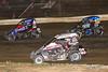 Ken Brenn Midget Masters - NOS Energy Drink USAC National Midget Championship - Grandview Speedway - 67 Logan Seavey, 25 Jerry Coons Jr., 39BC Zeb Wise