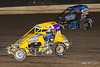 Ken Brenn Midget Masters - NOS Energy Drink USAC National Midget Championship - Grandview Speedway - 12 Steve Drevicki, 39BC Zeb Wise