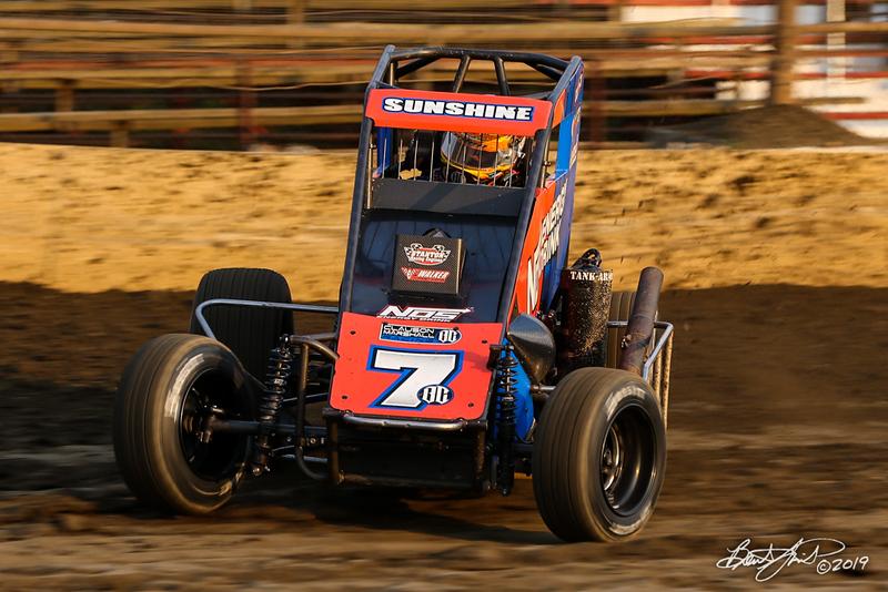 Ken Brenn Midget Masters - NOS Energy Drink USAC National Midget Championship - Grandview Speedway - 7BC Tyler Courtney