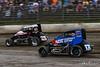 Ken Brenn Midget Masters - NOS Energy Drink USAC National Midget Championship - Grandview Speedway - 25 Jerry Coons Jr., 17BC Chris Windom