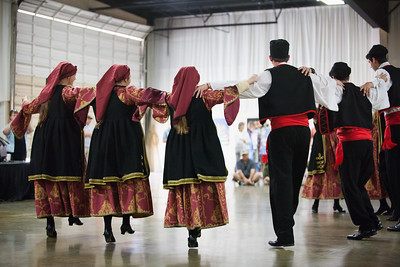 Dancers from Saint George Greek Orthodox Church in Bakersfield.