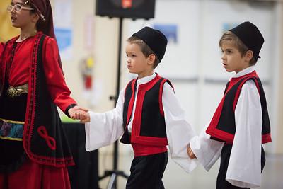 Dancers from Saint Barbara Greek Orthodox Church in Santa Barbara.