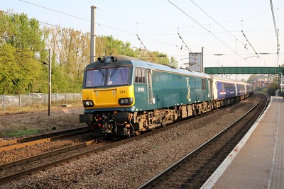92018 0738/1E39 Inverness-Kings Cross diverted Caledonian sleeper