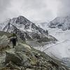 9/10 - Below the glacier