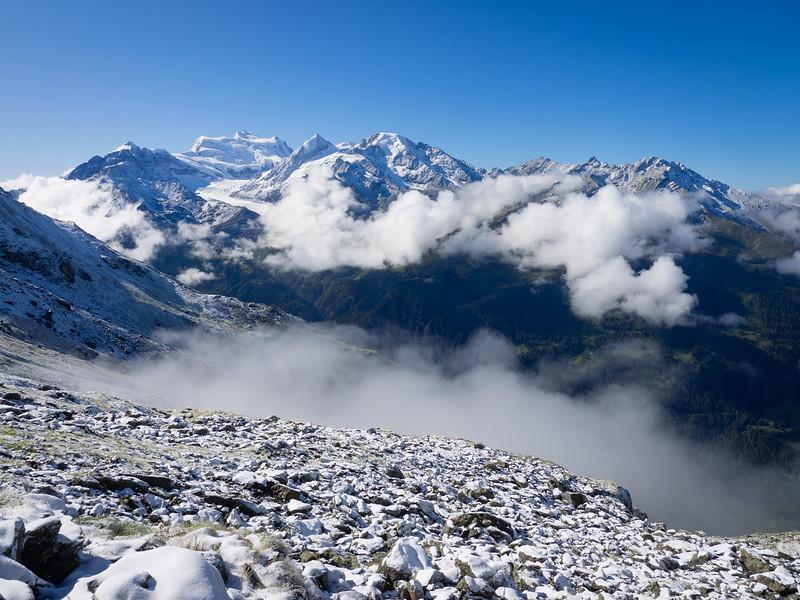 9/9 - Snow above the Val de Bagnes