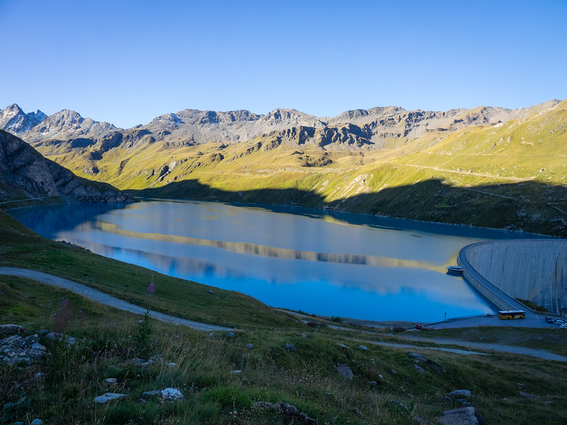 9/13 - Lac du Moiry and dam
