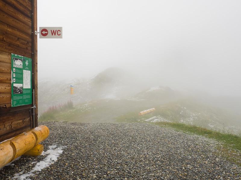 9/8 - Fog outside the refuge
