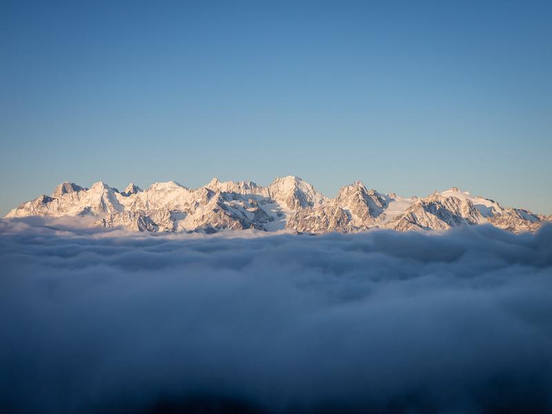9/9 - The Grand Combin massif