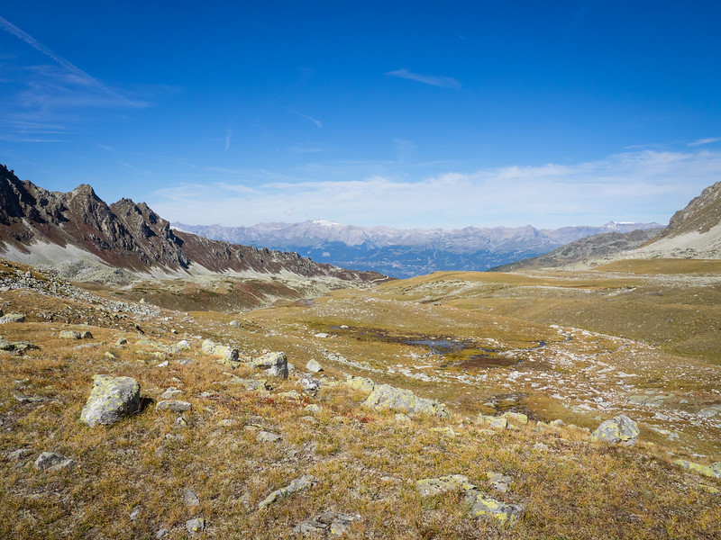 9/14 - High pasture and the Rhone Valley