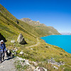 9/12 - Alongside Lac de Moiry