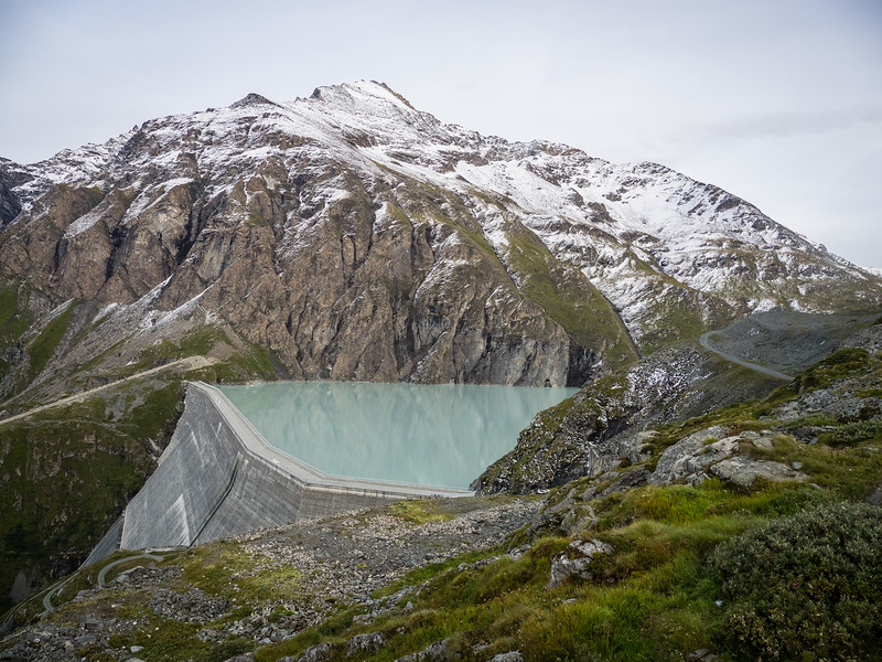 9/9 - The Lac des Dix dam