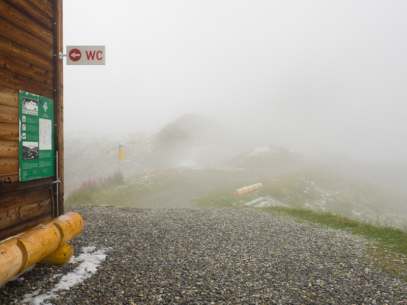 9/8 - Fog outside the refuge