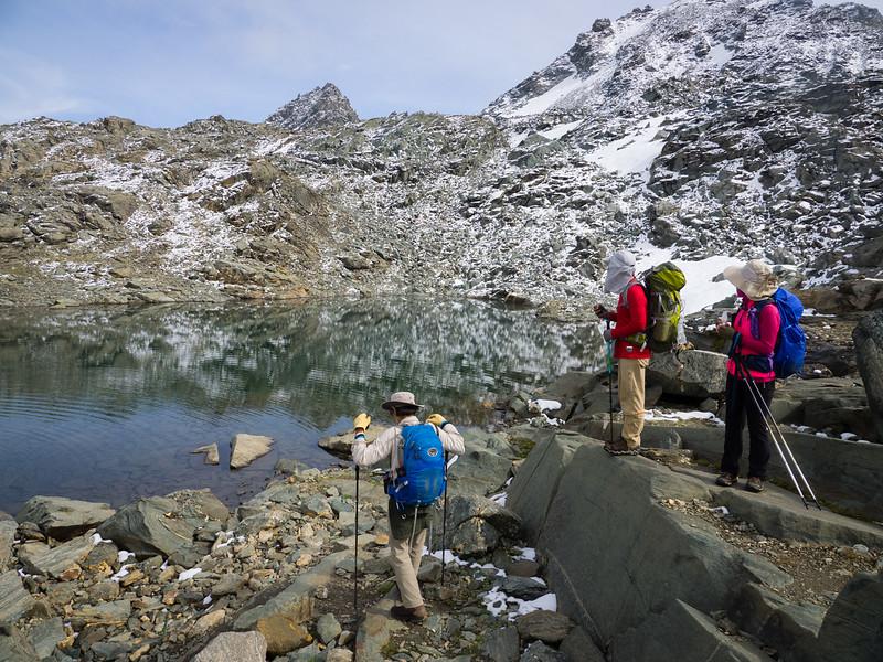 9/9 - Tarn below the Grand Desert glacier
