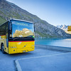 9/13 - Post bus at Moiry Barrage