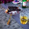9/14 - Wild blueberry tart