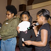 Youth from Shawna Newkirk-Reynolds workshop explain what they learned during the Black History Committee of the Hudson Valley Annual Rev. Dr. Martin Luther King Jr Memorial Service on Monday, January 21, 2019 at Mt. Carmel Church of Christ in Newburgh, NY. Hudson Valley Press/CHUCK STEWART, JR.