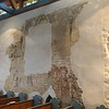 Frescos were covered up during reformation.  Now many uncovered.