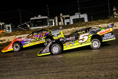 Billy Moyer, Jr. (21JR) and Michael Norris (5)