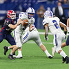 IHSAA class 3A State football championship between Bishop Chatard and Heritage Hills, held at Lucas Oil Stadium in Indianapolis, IN. 11/29/2019. Photo by Eric Thieszen..