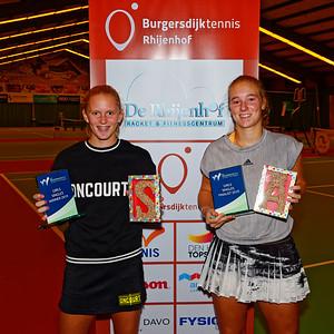 05 Finalists girls - ITF Juniors The Hague 2019