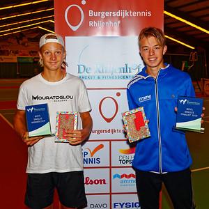 05a Finalists boys - ITF Juniors The Hague 2019