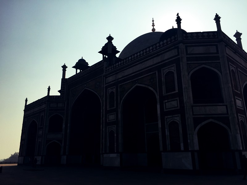 <b>Humayun's Tomb</b> <br>Delhi, India <br>December 30, 2018