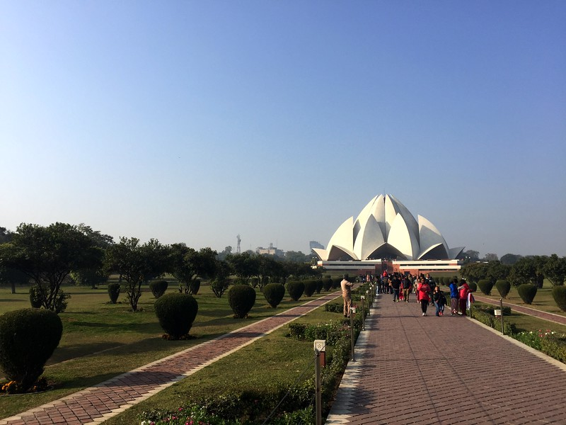 <b>Lotus Temple</b> <br>Delhi, India <br>December 29, 2018