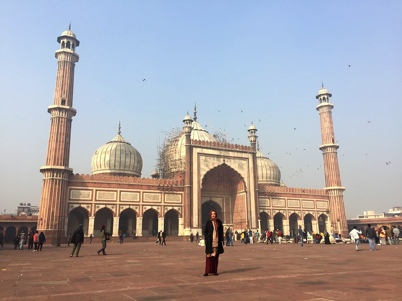 <b>Jama Masjid</b> <br>Delhi, India <br>December 31, 2018