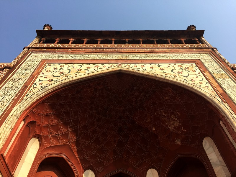 <b>Taj Mahal - Great Gate</b> <br>Agra, India <br>January 2, 2019
