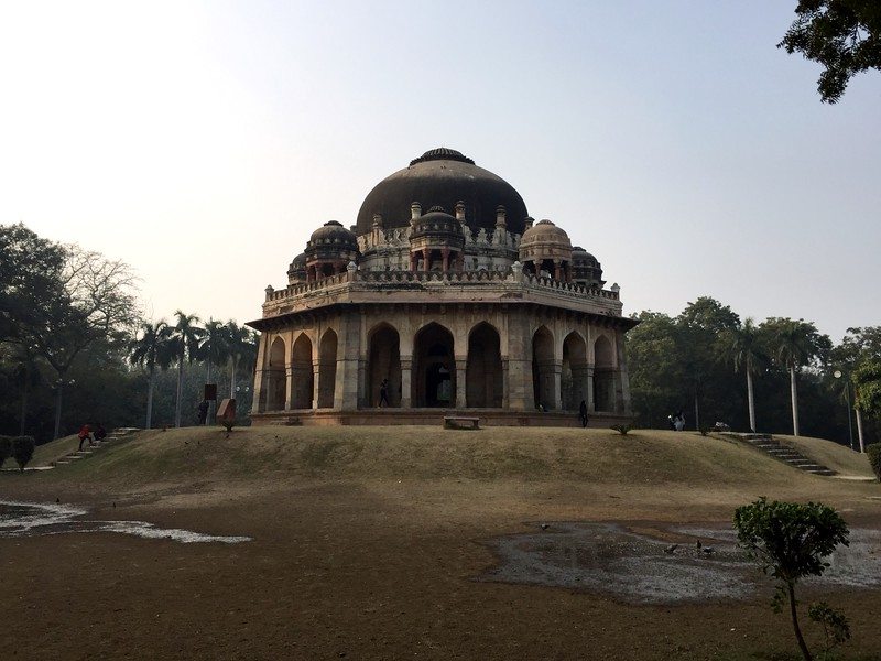 <b>Lodhi Garden</b> <br>Delhi, India <br>December 28, 2018