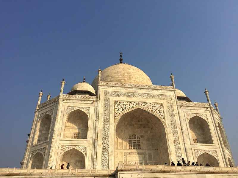 <b>Taj Mahal</b> <br>Agra, India <br>January 2, 2019