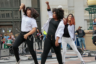 Oakland Women's March - Stage- Speakers & Performers