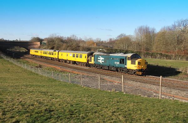 37025 Hungerford 17/01/19 3Z23 Exeter Riverside to Ferme Park