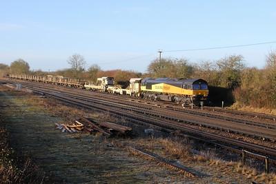 66846 Worting Junction 22/01/19 6Y48 Eastleigh to Hoo Junction