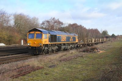 66719 Worting Junction 27/01/19 6G12 Greenhurst Junction to Eastleigh