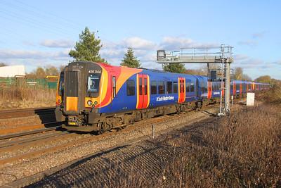 450544 Old Basing 28/01/19 2L39 London Waterloo to Basingstoke