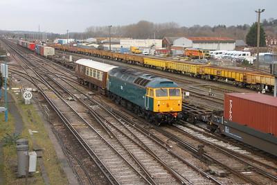 47853 Eastleigh 21/01/19 5Z80 Crewe Holding Sidings to Eastleigh