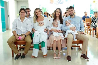 Batizado Sophia, Henrique e Helena - 13.07.2019