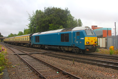 67002 Basingstoke 30/07/19 5Z64 Tyseley to Eastleigh
